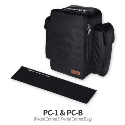 PC-1 & PC-B Pedal Carpet & Pedal Carpet Bag