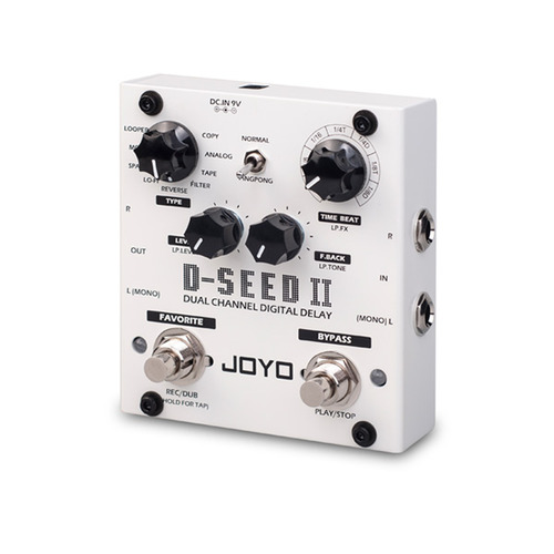 D-SEED II DUAL CHANNEL DIGITAL DELAY