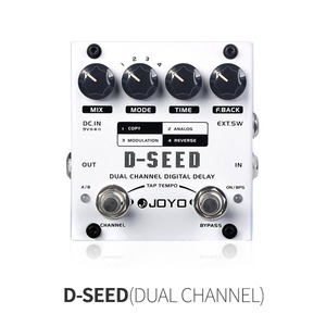 D-SEED DUAL CHANNEL DIGITAL DELAY